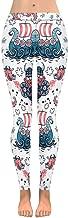 INTERESTPRINT Women's Stretchy Yoga Pants Cartoon Animal Full Length Active Leggings