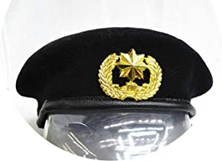 Warm Newly 100% Wool Hat Performing Expendables Airline Stewardess Uniform Sailor Dance Metal Beret Hats