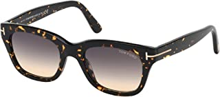 Sunglasses Tom Ford FT 0237 Snowdon 56B Shiny Dark Havana/Gradient Smoke-To-Yel
