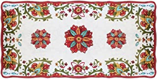 Le Cadeaux 297ALGR Allegra Biscuit Tray, 10.6 inches, Red