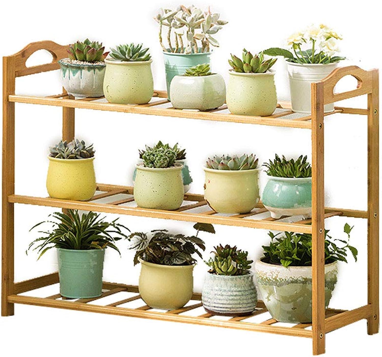 DLoob Flower Stands Plant Display Stand 5 Tier Shelf Garden Planter Pots Holder for Indoor Outdoor (Size   H 56CM)