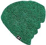Koloa Surf Co. Original Soft & Cozy Beanies - Green/Black Heathered