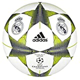 adidas Finale15RM Cap - Balón de fútbol, Color Blanco/Plata/Naranja, tamaño 5