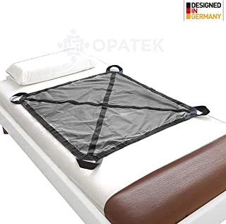 "Heavy Duty Patient Positioning Sheet for Lifting, Turning and Transfer, Reusable, Washable, Supports 250 lbs. (42"" x 36"")"