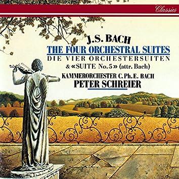 J.S. Bach: Orchestral Suites Nos. 1-5