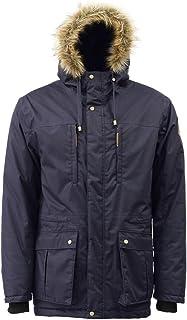 ICEWEAR Arnar Men's Hooded Winter Parka Jacket Hood Design with Pocket's Comfortable Windproof and Waterproof