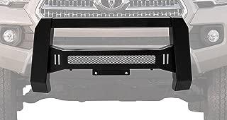 BETTER AUTOMOTIVE BEC1A-T102TM Predator Mesh Version Modular Bull Bar Front Bumper Brush Guards for Led Off-Road Lights for 2016-2017 Toyota Tacoma Pickup Truck, Black
