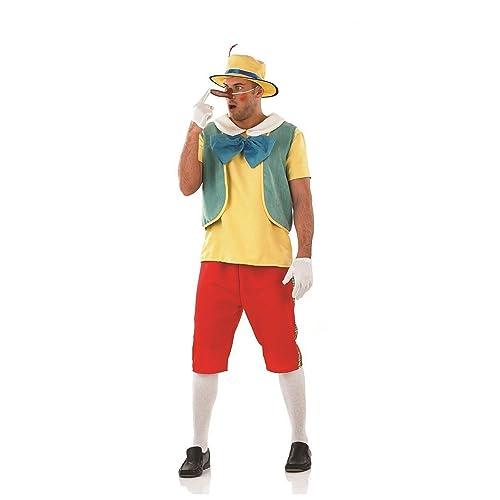 Schön Fun Shack Adult Pinocchio Costume   MEDIUM