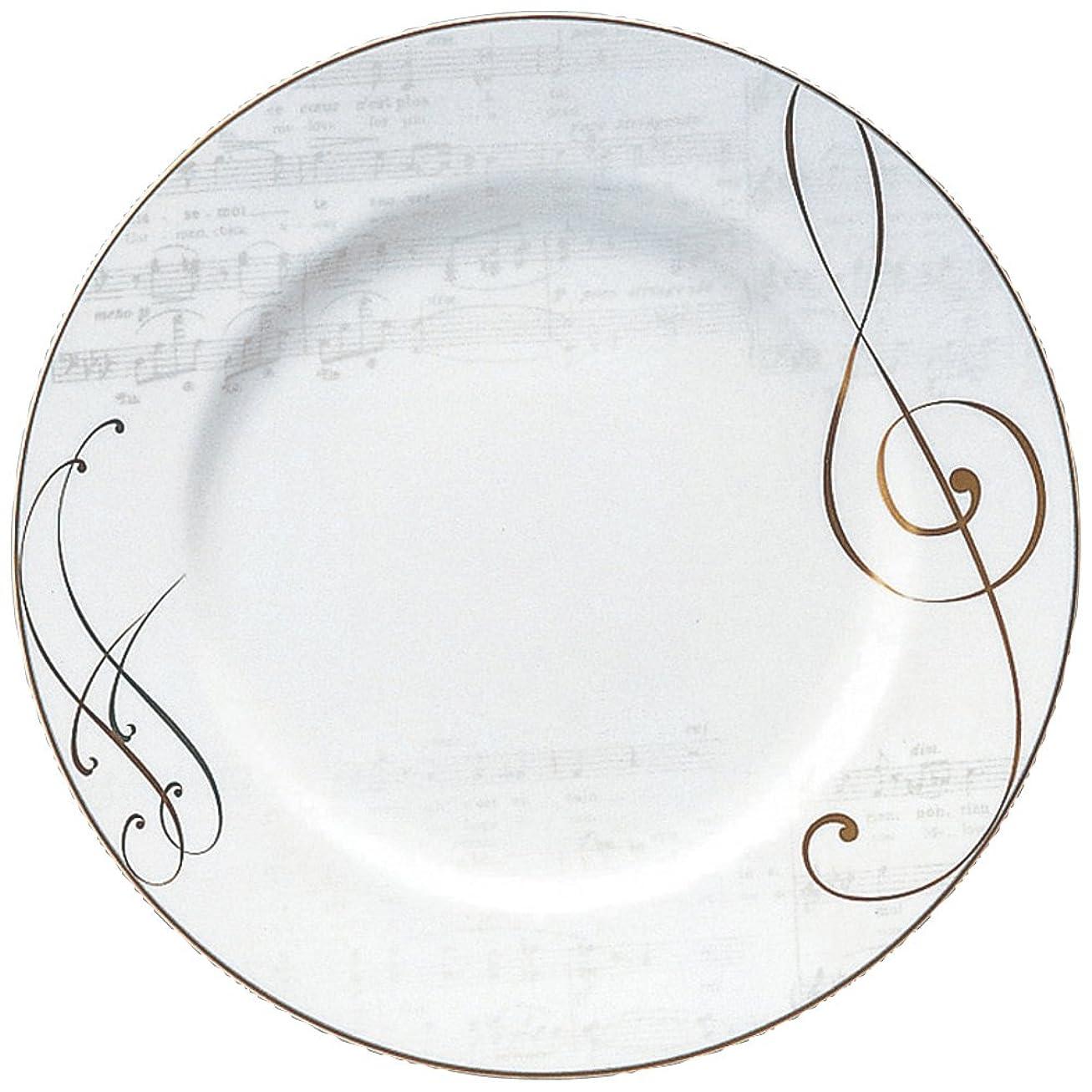 憂鬱な天窓オーケストラNARUMI(ナルミ) プレート 皿 オンプ ゴールド 27cm アラカルト 日本製 50528-1557
