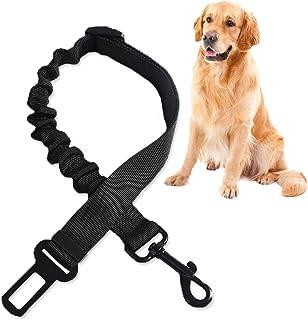 Hunde Sicherheitsgurt, Anschnallgurt Hund Kofferraum, 3 In 1 Hundesicherheitsgurt, Hundesicherheitsgurt fürs Auto, Elastischer Anschnallgurt, LäNgenverstellbar, FüR Alle Hunderassen & Autotypen