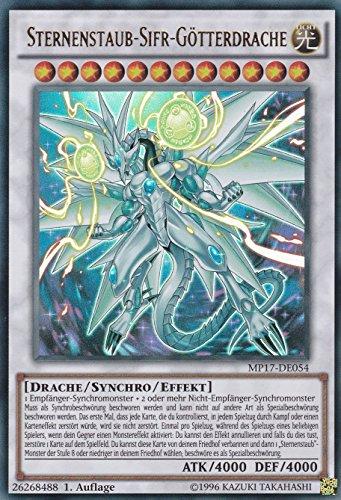 MP17-DE054 - Sternenstaub-Sifr-Götterdrache - Ultra Rare - Yu-Gi-Oh - Deutsch - 1. Auflage - LMS Trading