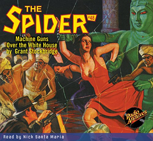 The Spider #48 audiobook cover art