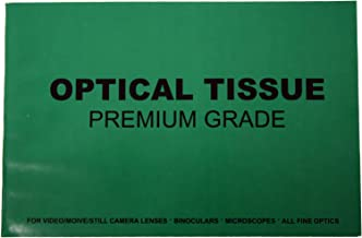 KDSG Premium Grade Optical Tissues Lens Cleaning Paper, for Night Vision Optics, Scope, Microscope, Camera Lens, Pack of 50 Sheets