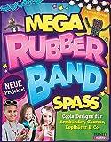 Mega Rubberband Spaß: Coole Designs für Armbänder, Charms, Kopfhörer & Co.
