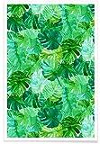JUNIQE® Blätter & Pflanzen Poster 30x45cm - Design