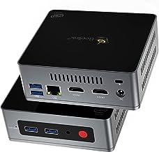 Mini PC,Beelink GK Mini Windows 10 Pro,Intel Celeron J4125 Processor,8GB DDR4/128GB SSD,Gigabit Ethernet,4K HD,Dual HDMI,D...