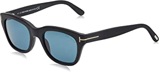 Tom Ford Men's Sunglasses Square FT0237 Black/Blue