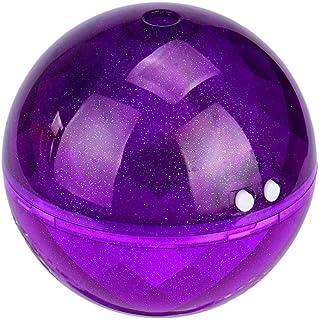 LED Ultrasonic Aromatherapy Purifier Humidifier(160ML),Tuscom@ Air Aroma Essential Oil Diffuser (Purple)