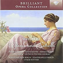 Schubert: Alfonso und Estrella by Brilliant Classics (2013-10-10)
