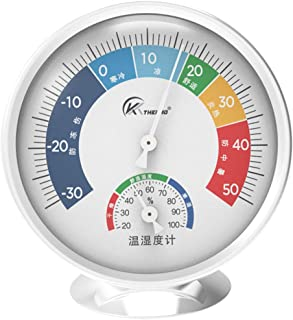 Balacoo Indoor Thermometer Hygrometer Temperature Humidity Monitor Gauge Humidity Meter for Home Patio Planting Room Repti...