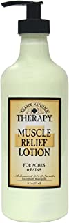 The Village Company Muscle Therapy Relief Natural Lotion, 16 Ounce- Packaging May Vary