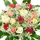 Bunter Geburtstag Blumenstrauß - Bumo - Inklusive gratis Grußkarte!