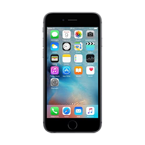 "Apple iPhone 6s - Smartphone libre iOS (4.7"", 16 GB, 2 GB RAM, 4G), color gris"