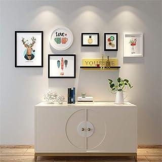 LONGWDS Marco de Fotos Pintura Dormitorio Pared del Sitio de Fotos Marco combinación Decoraciones de Pared Imagen de los n...