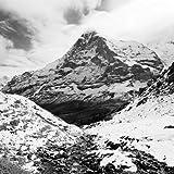 Digitaldruck / Poster Dave Butcher - Eiger North Face - 50