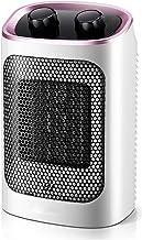 NFJ-LYR Calefactor Ventilador,Protección sobrecalentamiento,Calefactor bajo Consumo electrico,2 Modos,Calefactor Portátil,Termostato Regulable,Ventiladores bajo Consumo