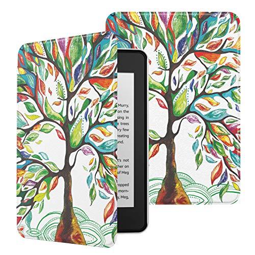 MoKo Funda para Kindle Paperwhite (10th Generation, 2018 Releases), Ultra Delgada Ligera Smart-Shell Soporte Cover Case para...