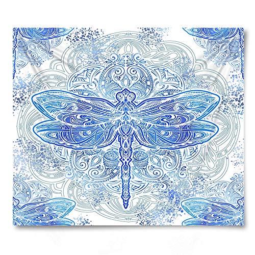 PPOU Tapiz de Pared de Mariposa de Insectos Toalla de Playa Toalla de sofá Decoración de la Pared del hogar Tapiz de Tela de Fondo A3 130x150cm