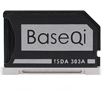 Amazon Com Baseqi Aluminum Microsd Adapter For Macbook Pro Retina 13 Computers Accessories