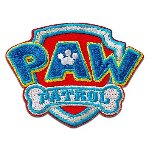 Parches - Paw Patrol Patrulla Canina Logo - azul -