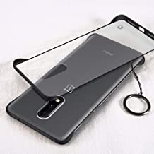 GOGODOG Compatible with Oneplus 6T Case Full Cover Ultra Thin Frameless Bumper Matte Hard PC Anti Slip Scratch Resistant T...