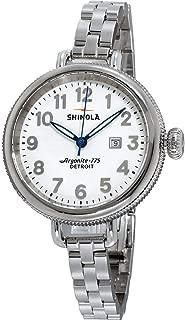 Shinola Detroit Women's The Birdy 34mm - 10000206 White/Stainless Steel