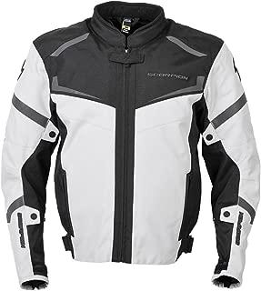 ScorpionExo Men's Phalanx Jacket (Light Gray, Large)