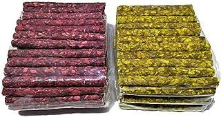 MS Pet House Dog Chew Sticks, Munchy Sticks Mix Flavours ( 1kg Chicken and 1kg Mutton ) 2 kg Pack Chew Treat Stix Snacks f...