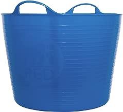 Tubtrugs 10 Large Tub, 10 Gallon, Blue