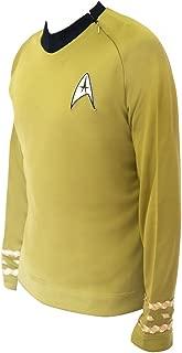 Star Trek TOS Kirk Costume Uniform Tunic Classic Series Shirt
