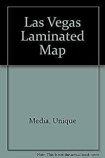 Las Vegas Laminated Map