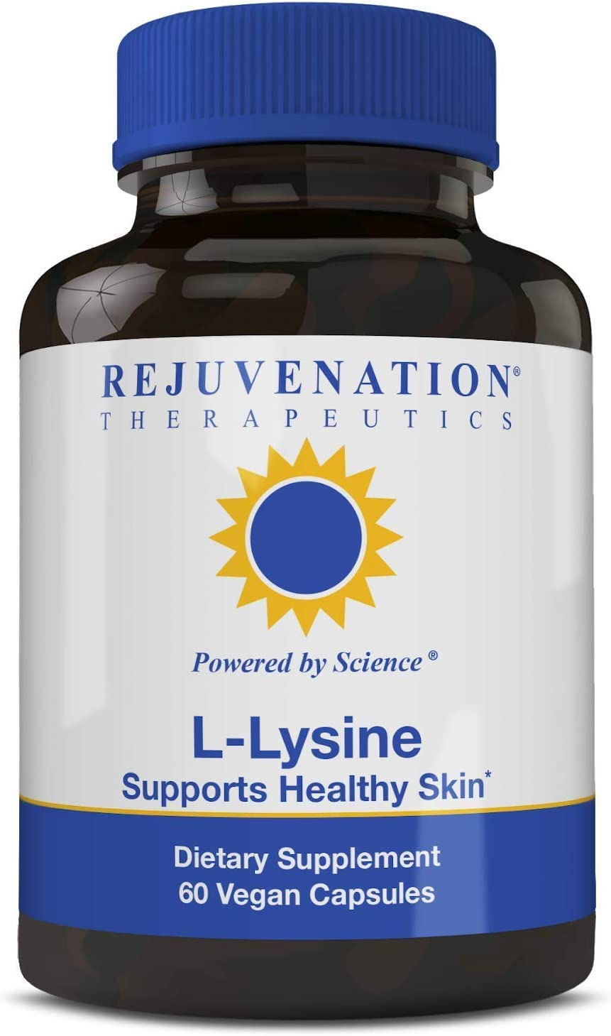 Rejuvenation Online limited product Therapeutics 40% OFF Cheap Sale - L-Lysine Healthy Supports 60 Skin