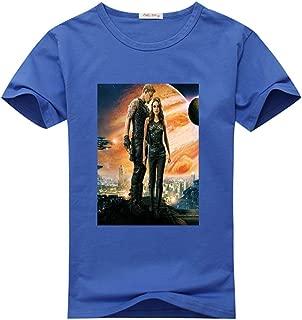 Newfits Custom Jupiter Ascending DIY T Shirts Design Womens Large Blue