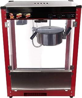 Iglobalbuy Máquina de palomitas de maíz 1370W capacidad 8oz Fabricante de palomitas de maíz retro Palomitas fabricante de ...