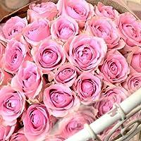 〔エルフルール〕バラの花束 30本 カラー:ピンク 結婚記念日 プレゼント 薔薇 誕生日祝い 贈り物 母の日 花