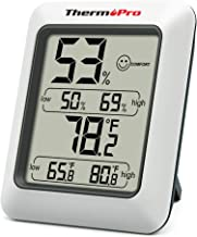 ThermoPro TP50 Digital Hygrometer Indoor Thermometer Humidity Monitor with Temperature Humidity Gauge