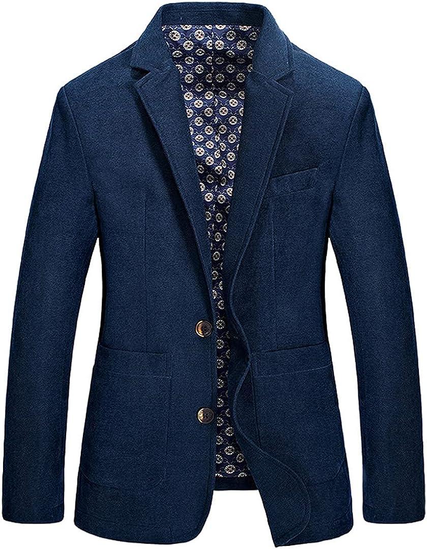Designer Men's Casual Blazer Fashion Male Fit Slim Jacket Coat