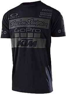 Troy Lee Designs Mens 2017 KTM Team LIC Short-Sleeve Shirt
