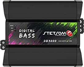 Stetsom DIGITAL BASS DB 3000 2 Ohms Mono Car Amplifier,...