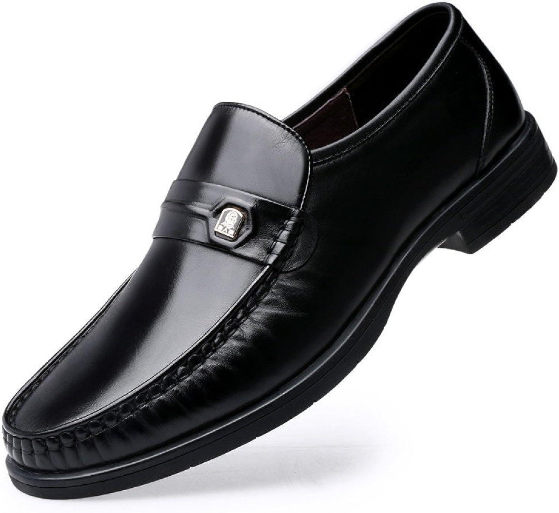 LYZGF Hommes Gentlehomme Spbague Affaires Décontracté Chaussures Round Head Décontracté Chaussures